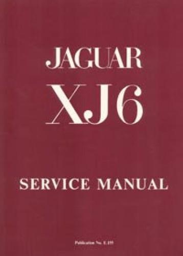The Jaguar Xj6 Series 1 28 And 42 Litre Workshop Manual