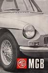 MGB Tourer and MGB GT Drivers Handbook 1968 US edition