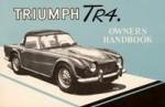Triumph TR4 Drivers Handbook 1961-1965