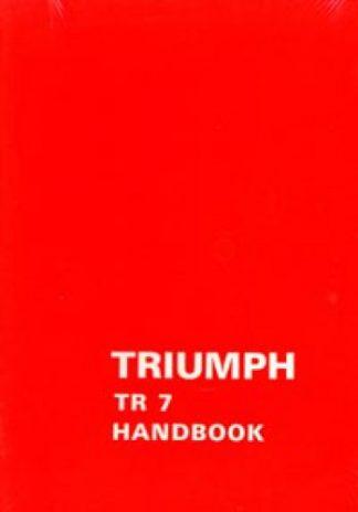 Triumph TR7 Drivers Handbook 1976