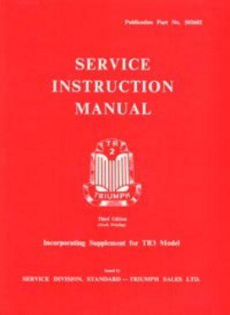 1953-1957 Triumph TR2 TR3 Service Manual