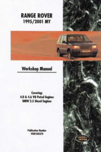 Range Rover Official Workshop Manual 1995-2001