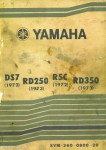 Yamaha 1972 DS7 R5C 1973 RD250 RD350 Service Manual_Page_1