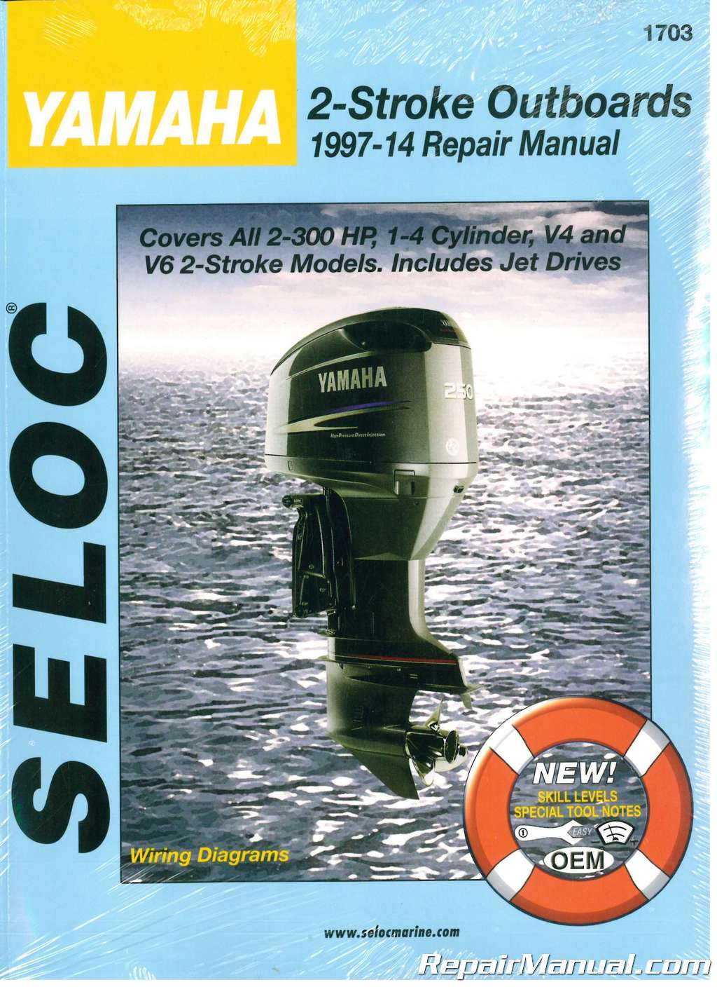 Yamaha Outboard 2 Stroke Engine Repair Manual 1997 2014 By