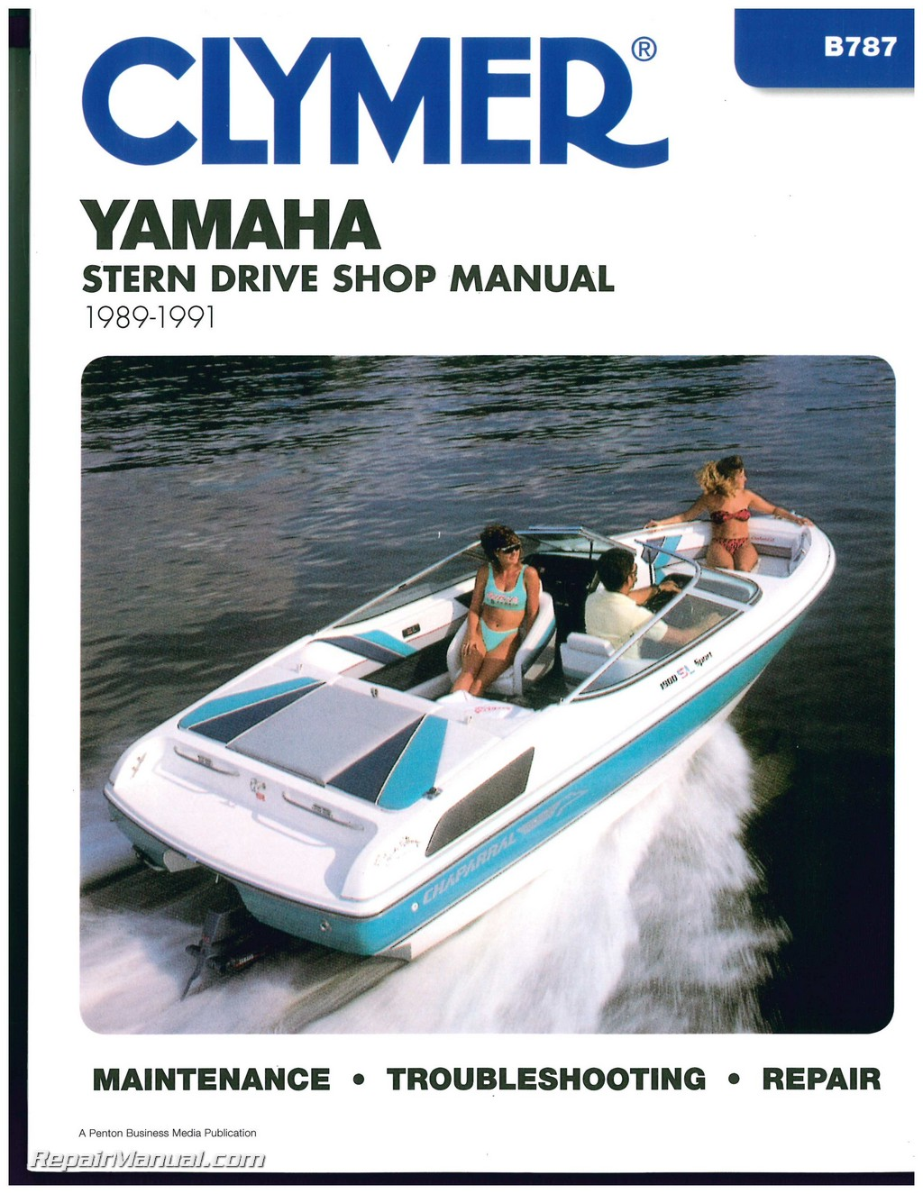 yamaha stern drive 1989 1990 1991 clymer boat engine repair manual rh repairmanual com