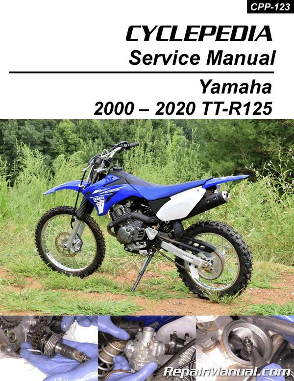Yamaha Tt E  Le Motorcycle Service Manual Cyclepedia
