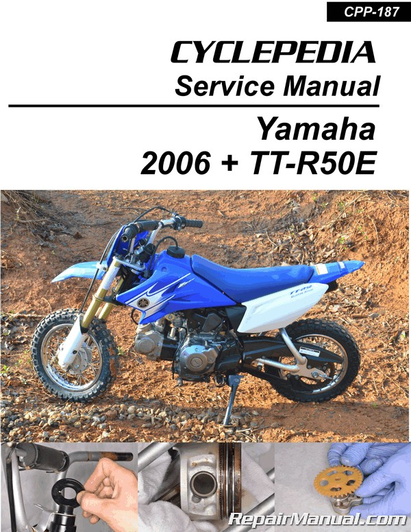 Yamaha WR250R WR250X Printed Motorcycle Service Manual by Cyclepedia