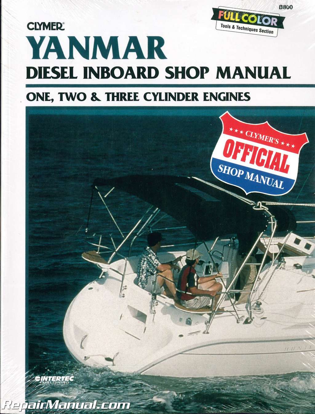Yanmar Diesel Inboard Boat Engine Shop Manual – One, Two, Three Cylinder by  Clymer