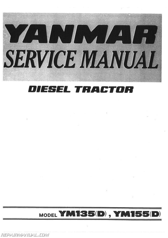 yanmar ym ymd ym ymd diesel tractor service manual