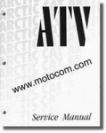 2001 Arctic Cat 250 300 400 500 ATV Service Manual