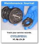 CYCLEPEDIA Motorcycle Maintenance Log