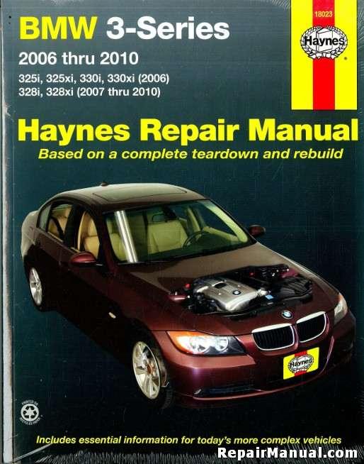 bmw 3 series 2006 2010 automotive service repair manual rh repairmanual com BMW 3 Series Cars BMW Workshop Manual