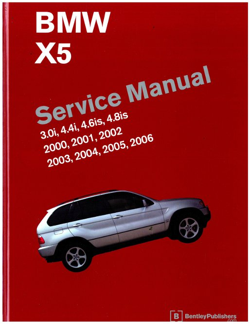 bmw x5 e53 printed service manual 2000 2006 rh repairmanual com 2019 BMW X5 2013 BMW X5 Redesign