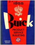 Buick Product Service Bulletins Manual 1955