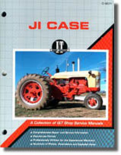 JI Case and David Brown Series 200B, 300, 300B, 350, 400, 400B, 500B, 600B, 700B, 800B, C, D, L, LA, R, S, V and VA Tractor Repair Manual