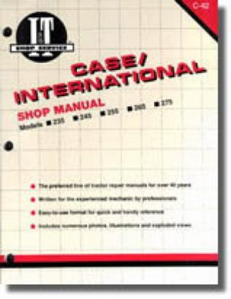 Case-International 235 245 255 265 2656 275 Farm Tractor Workshop Manual