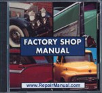 1932 Chevrolet Car and Truck Auto Repair Shop Manual on CD