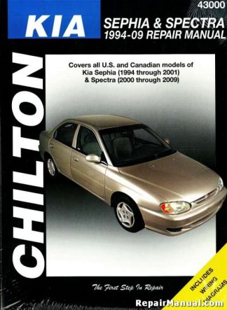 Chilton 1994-2009 Kia Sephia Spectra Automobile Repair Manual