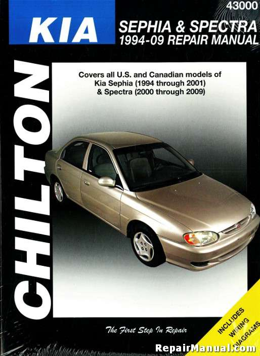 Chilton Kia Sephia Spectra Sportage Automobile Repair Manual Ch T