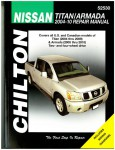 Chilton 2004-2009 Nissan Titan 2005-2010 Nissan Armada Auto Repair Manual