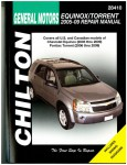 Chilton Chevrolet Equinox And Pontiac Torrent 2005-2009 Repair Manual