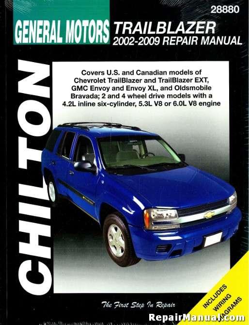 Chilton Chevrolet Trailblazer 2002 2009 Repair Manual