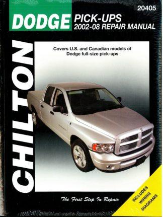 2002-2008 Dodge Pick-up Truck Chilton Repair Manual