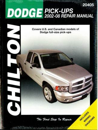 2009-2012 Dodge Pick-up Truck Chilton Repair Manual