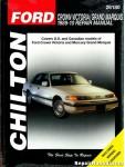 Chilton Ford Crown Victoria Grand Marquis 1989-2010 Repair Manual