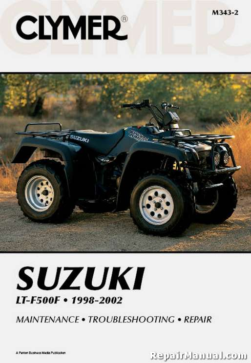 basic tractor wiring clymer 1998 2002 suzuki ltf500 quadrunner atv repair manual  clymer 1998 2002 suzuki ltf500 quadrunner atv repair manual
