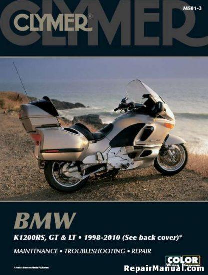 1998-2010 BMW K1200RS GT LT Motorcycle Repair Manual by Clymer