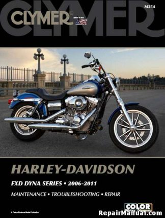 Clymer Harley Davidson FXD Dyna Series 2006-2011 Repair Manual