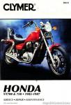 1983-1987 Honda VT 700 750 Repair Service Manual by Clymer