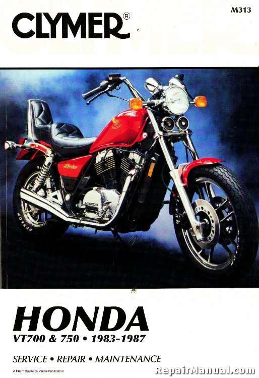 Clymer Honda Vt Repair Manual M T on Honda Shadow Manual