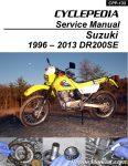 Cyclepedia DR200 Service Manual