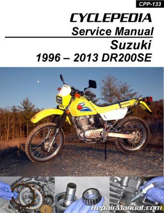 Suzuki DRZ125    Kawasaki    KLX125 Cyclepedia Printed Service
