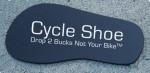 Cycle Kickstand Shoe aka The Motorcycle Cycle Foot