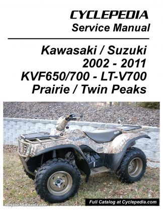 Kawasaki KVF650 Brute Force / KVF650 KVF700 Prairie Suzuki TwinPeaks on