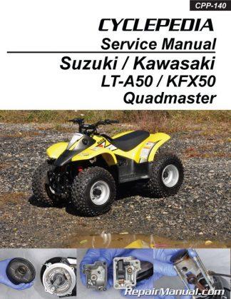 Suzuki LT80 Quadsport, Kawasaki KFX80 Cyclepedia Printed