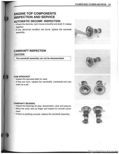 2012 - 2014 Suzuki RM-Z250 Service Manual