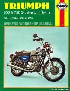 triumph bonneville trophy tiger 1963 1983 motorcycle triumph bonneville owner's manual triumph scrambler owners manual