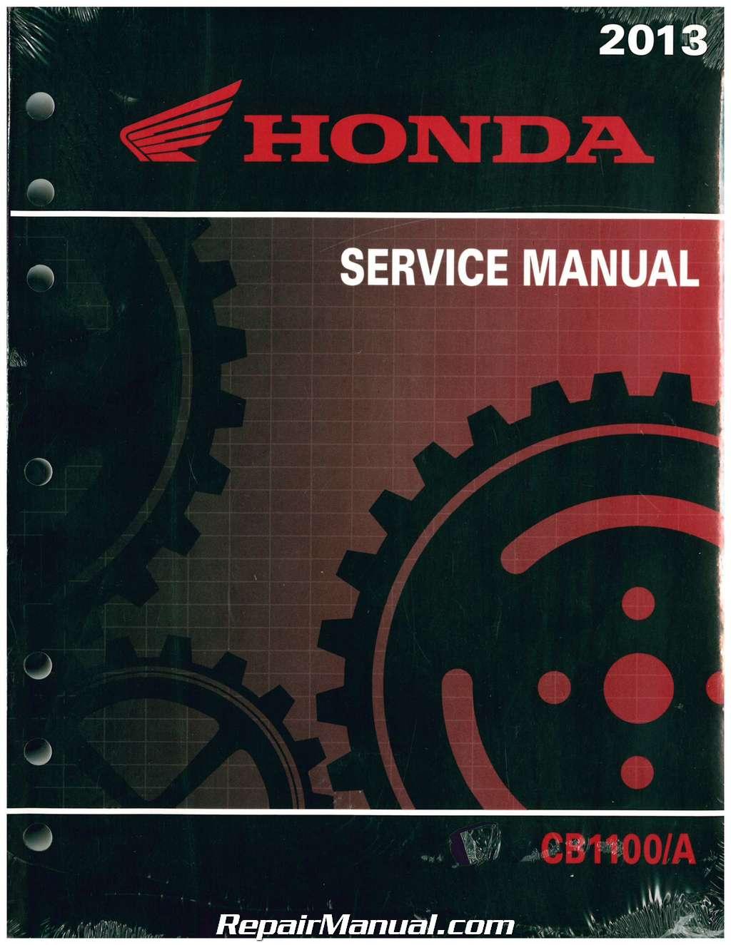 2013 honda cb1100 a service manual rh repairmanual com 2013 honda cb1100 shop manual 2012 Honda CB1100
