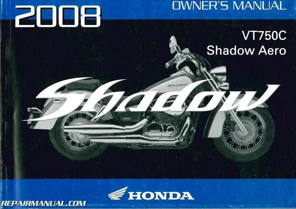 Owners Manual 2008 Honda Cb1000r