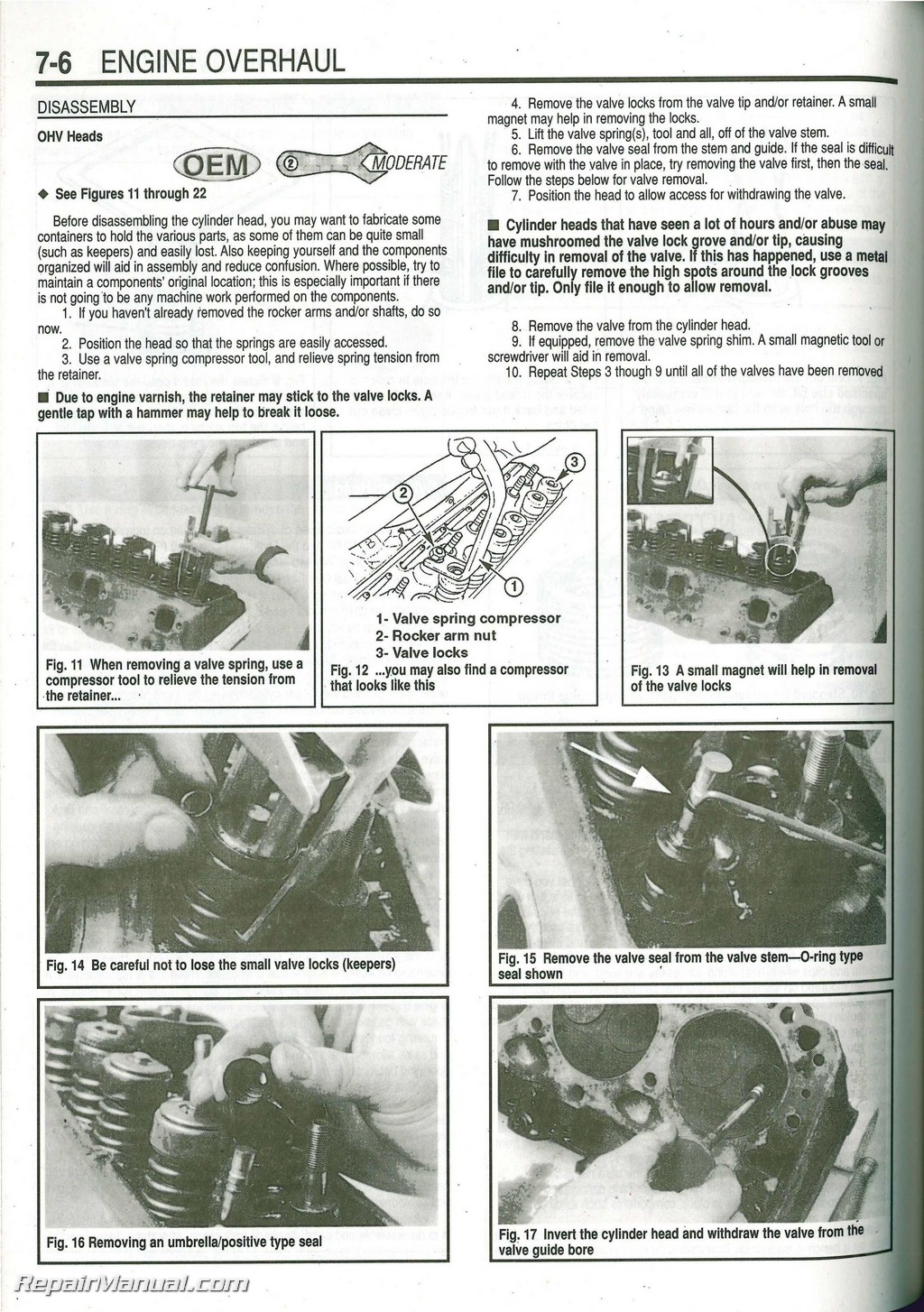 Omc Cobra Stern Drive Boat Engine Repair Manual 1986
