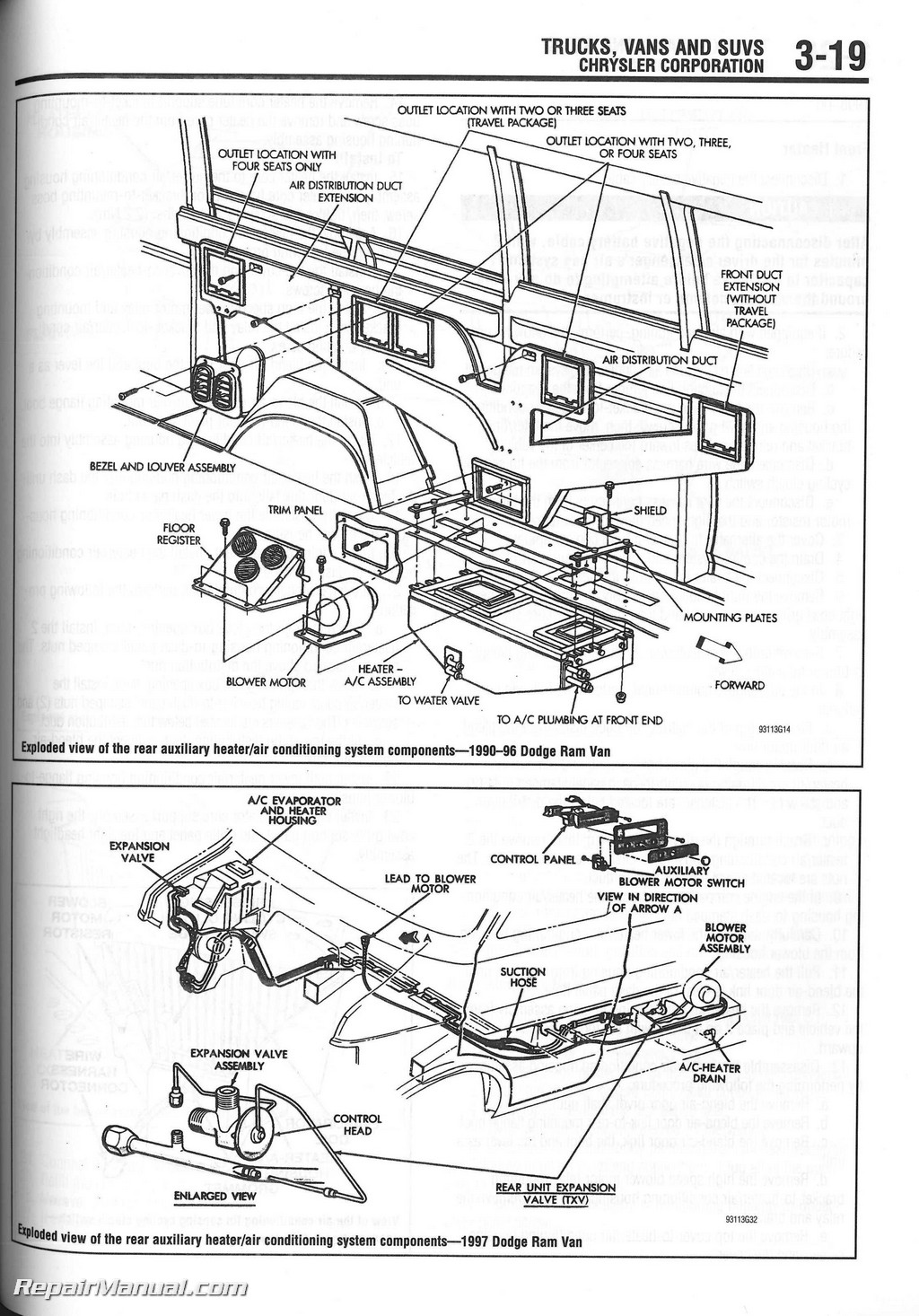 98 Explorer Wiring Diagram Starting Know About Ford Harness Diagrams Chilton 1990 2000 Heater Core Installation Manual Fog Light