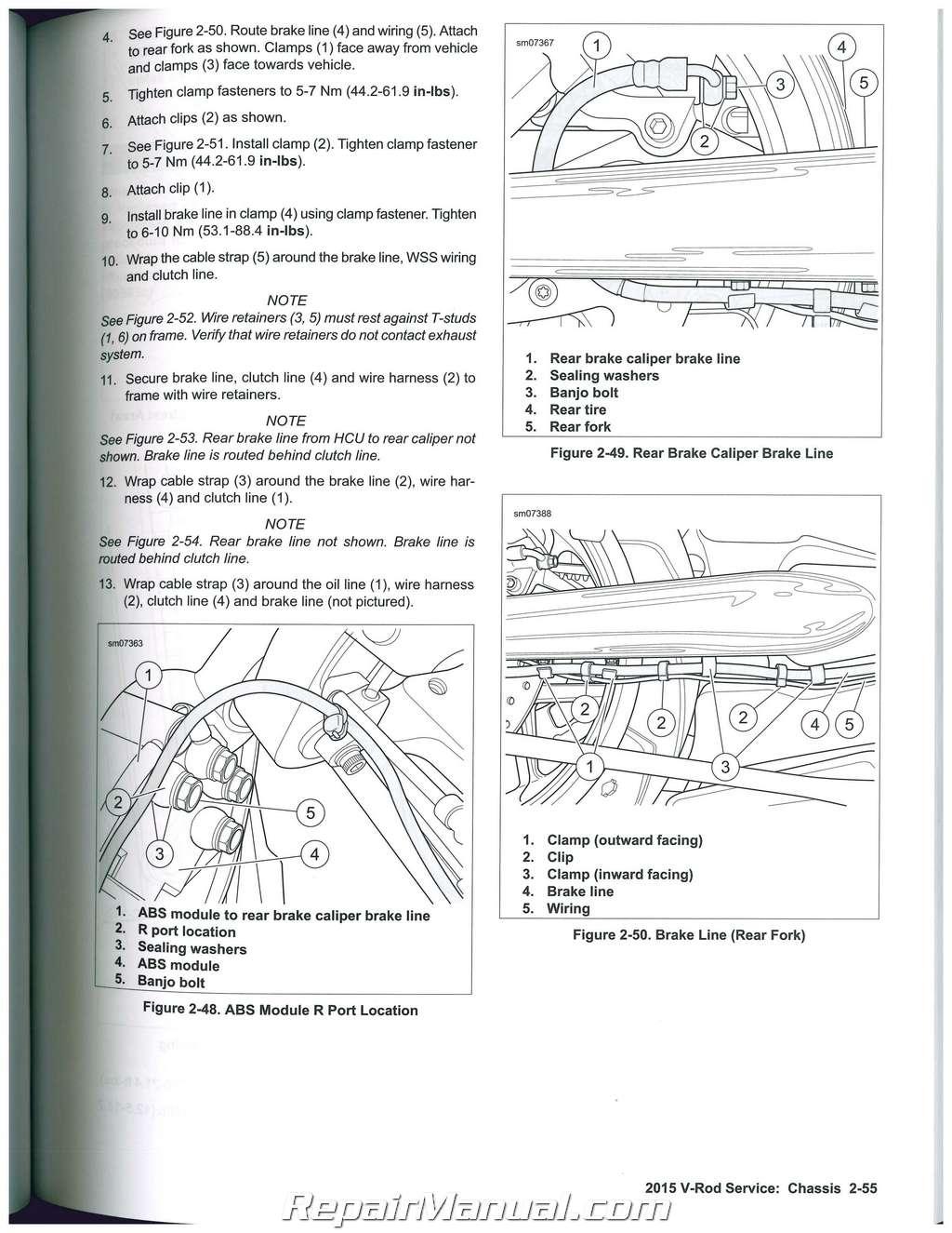 2015 harley davidson v rod motorcycle service manual rh repairmanual com 2012 v rod owners manual v rod service manual