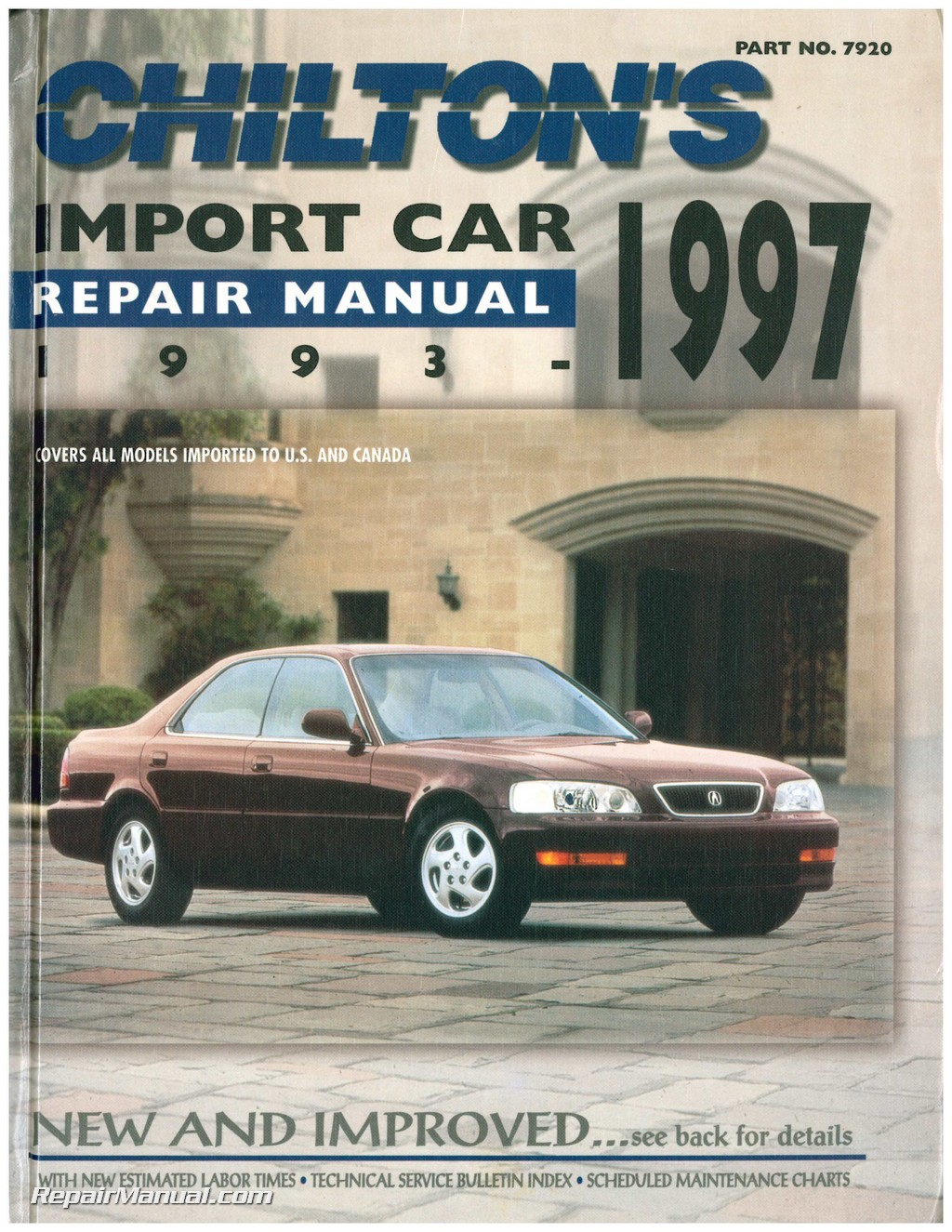 Used Chilton Import Car Repair Manual ...