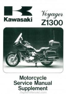 Honda A1 Service >> 1983-1989 Kawasaki Voyager ZN1300 Motorcycle Service Manual Supplement