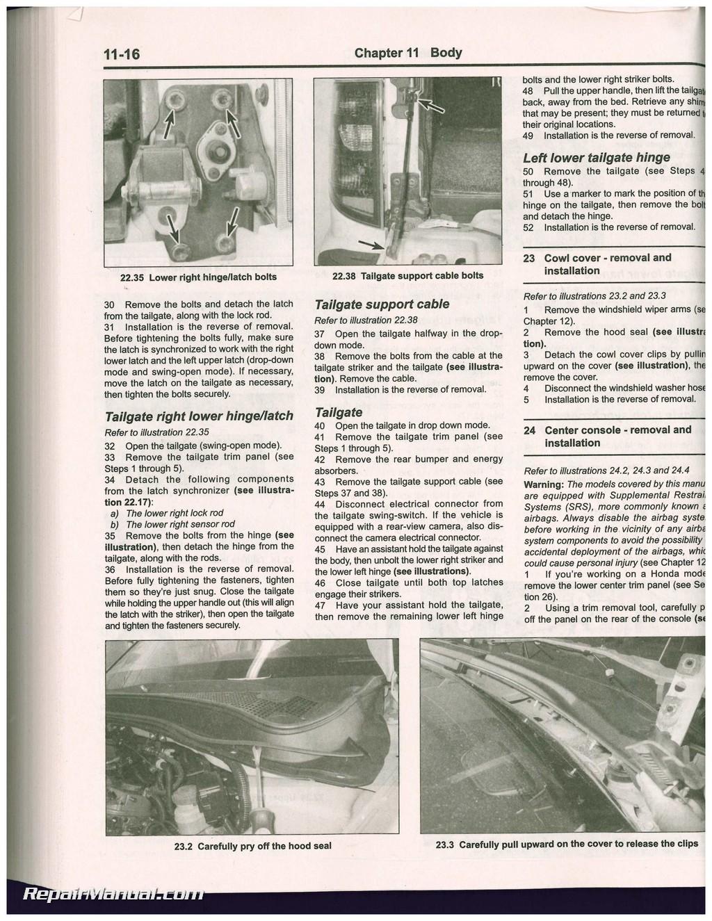 honda pilot 2003 2008 honda ridgeline 2006 2014 acura mdx 2001 2007 rh repairmanual com Stick Shift 7 Speed Manual Transmission