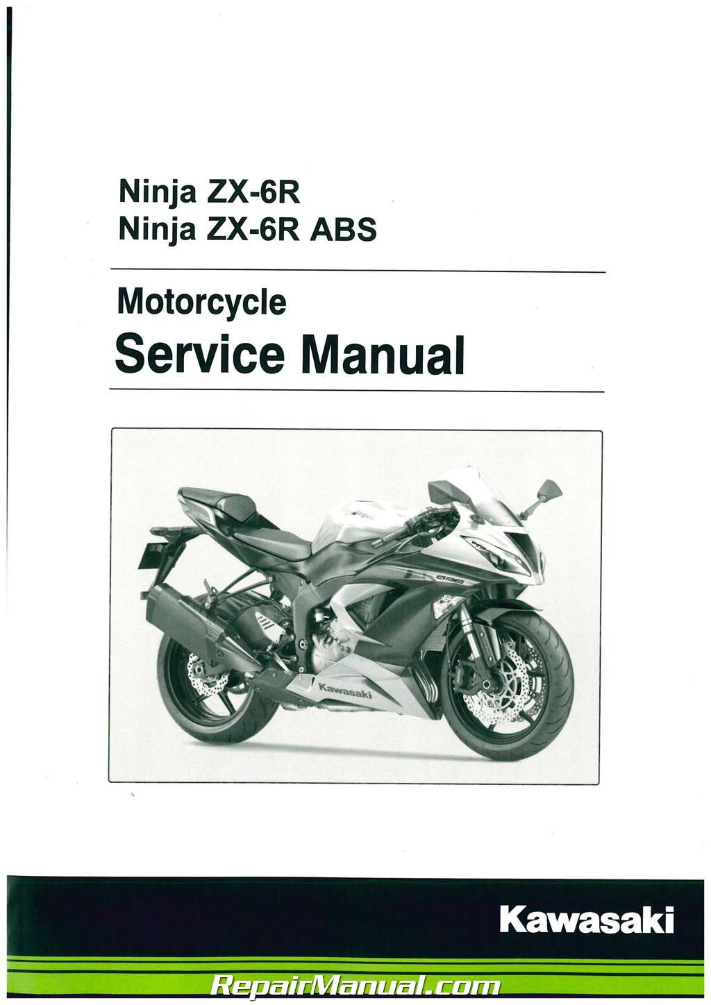 2000-2002 kawasaki ninja zx6r factory service repair manual 2001.